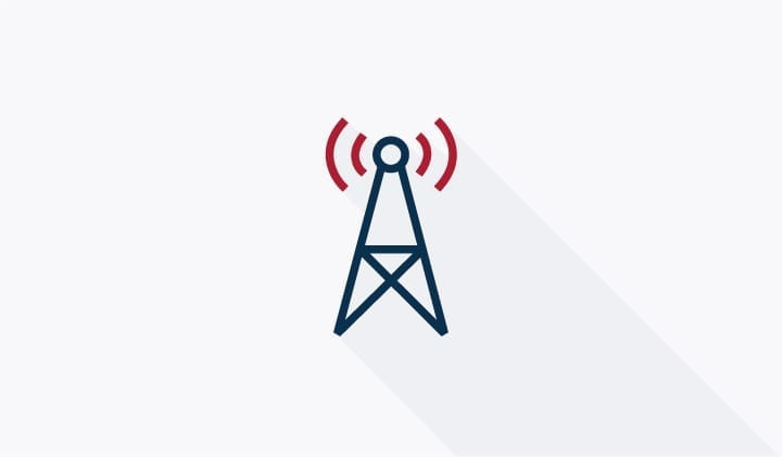 radio mast illustration